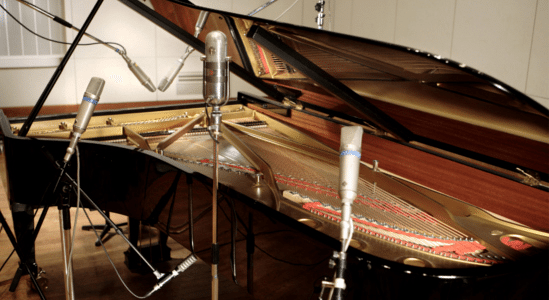 Piano sound recording