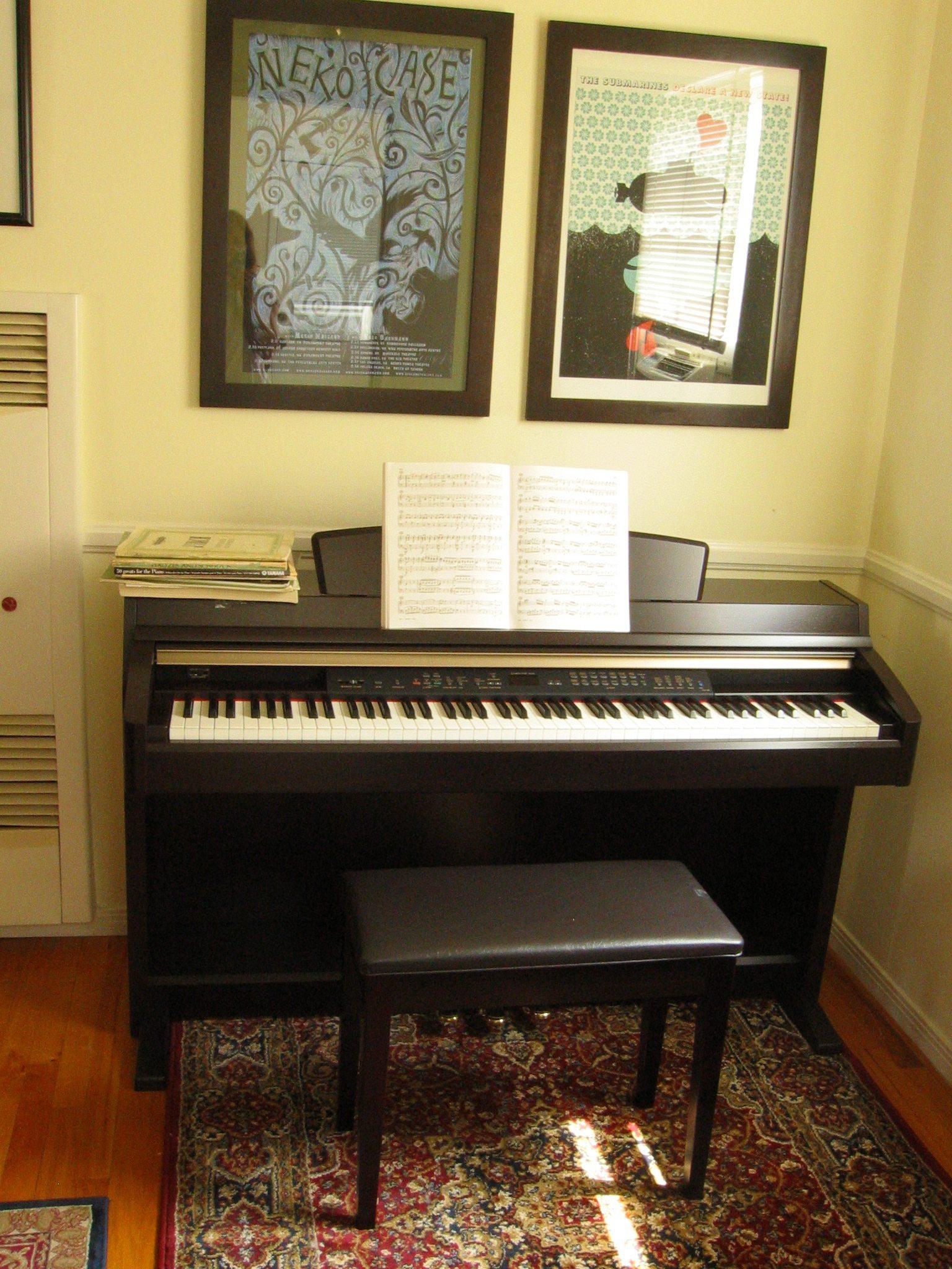Digital-piano-yamaha-Clavinova